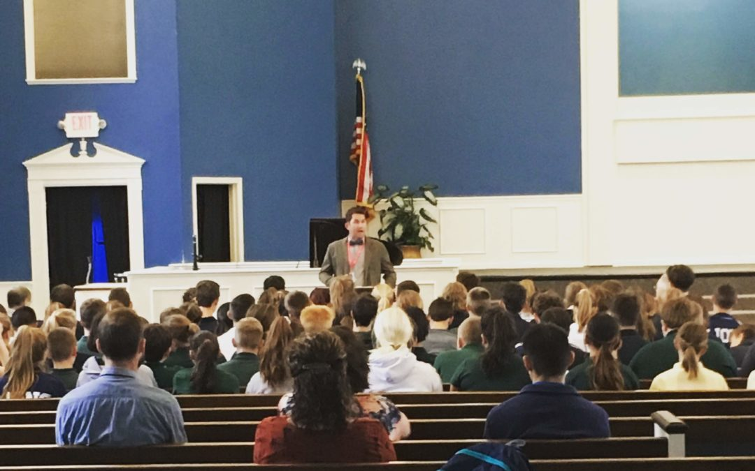 Corporate Worship: Starting the School Day With Scripture