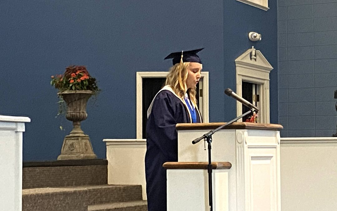 Whitefield Academy Salutatorian Address 2020